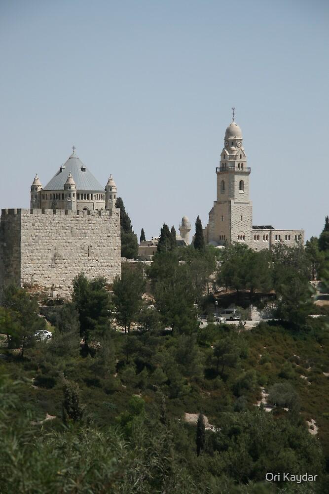 Jerusalem Old City by Ori Kaydar