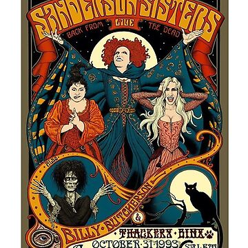 Sanderson Sisters Tour Poster by arenres71