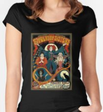 Sanderson Sisters Tour Poster Women's Fitted Scoop T-Shirt