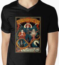 Sanderson Sisters Tour Poster Men's V-Neck T-Shirt