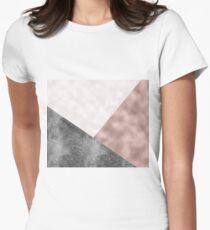 Rose grunge - geo layers T-Shirt
