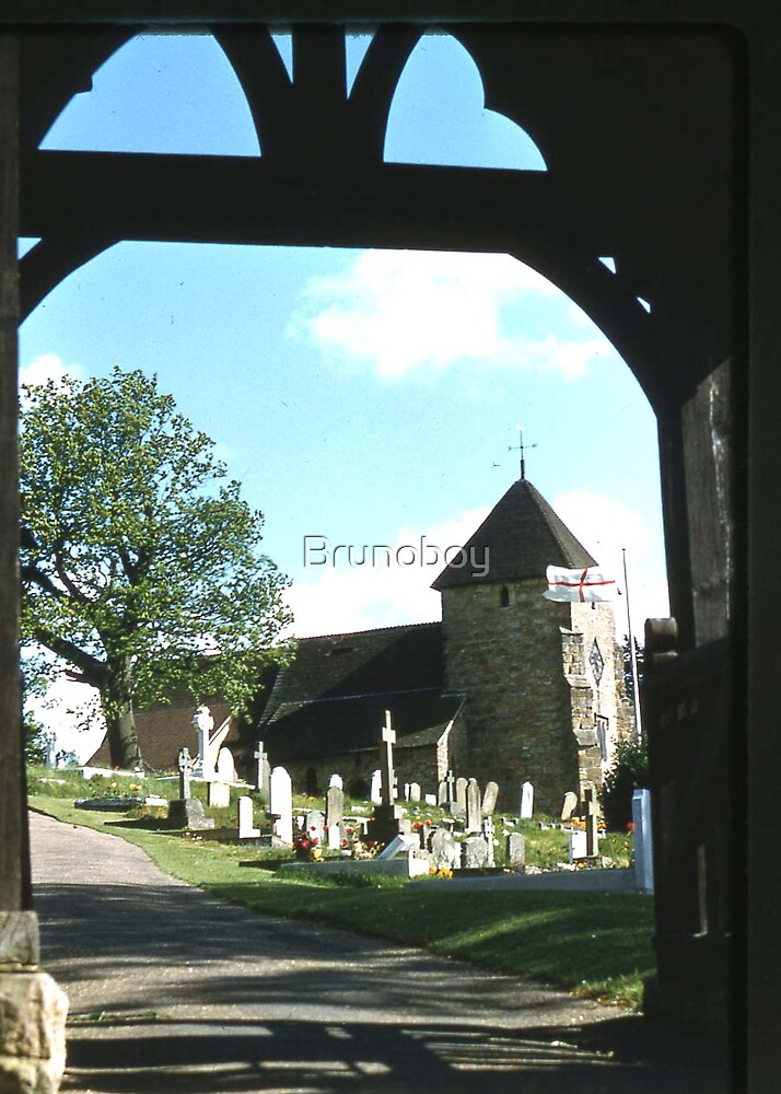St, Lawrence Church, Bidborough. by Brunoboy
