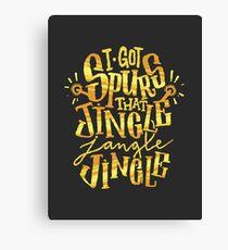 Jingle Jangle Jingle Canvas Print