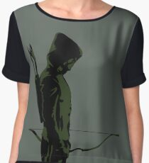 Green Arrow - Oliver Queen Women's Chiffon Top