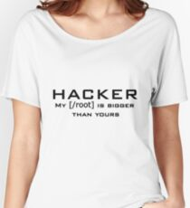 Hacker Root  Women's Relaxed Fit T-Shirt