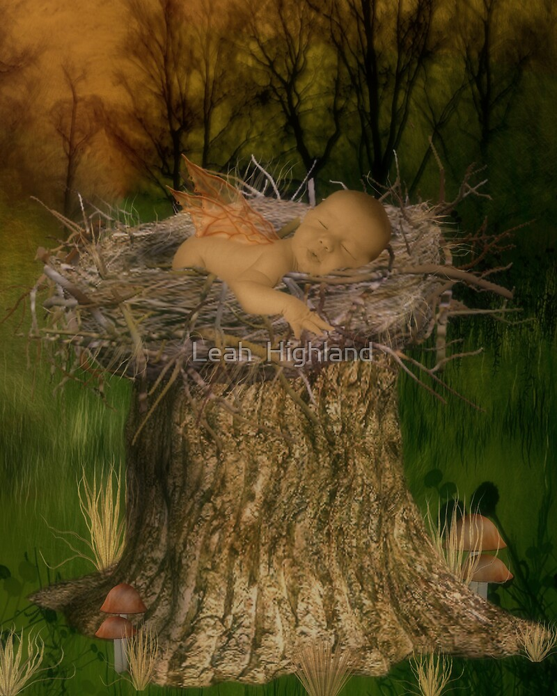 """""""Nest Baby"""" by Leah  Highland"""