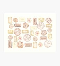 biscuit barrel Art Print