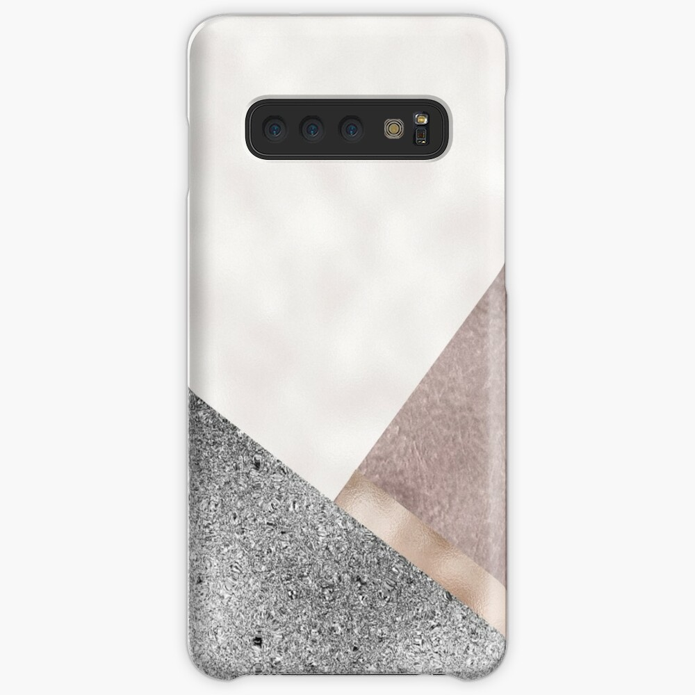 Rose grunge - geo layers III Case & Skin for Samsung Galaxy