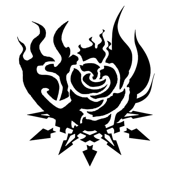 Rwby Team Symbols Black White Posters By Hometownscifi Redbubble