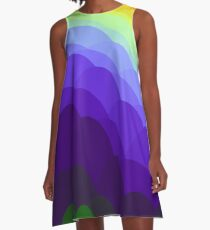 Sunset  Over Water IPhone Case A-Line Dress