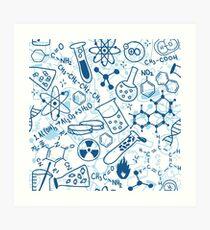 Chemie Kunstdruck