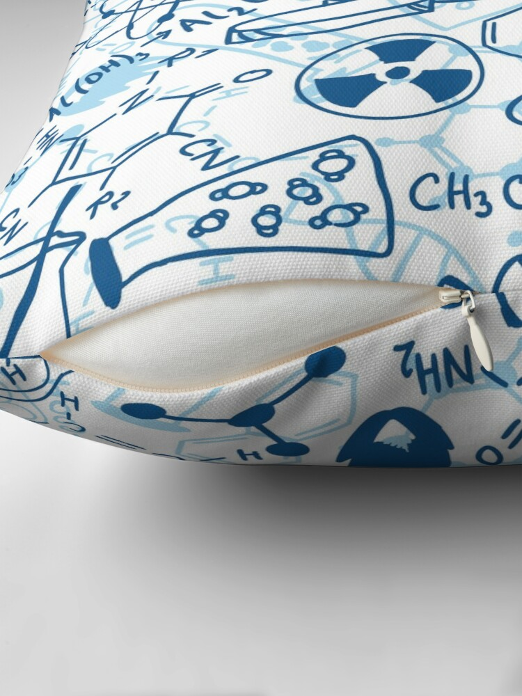 Alternate view of Chemistry Throw Pillow