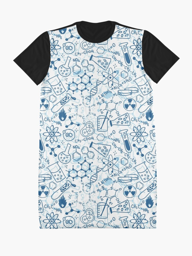 Alternate view of Chemistry Graphic T-Shirt Dress