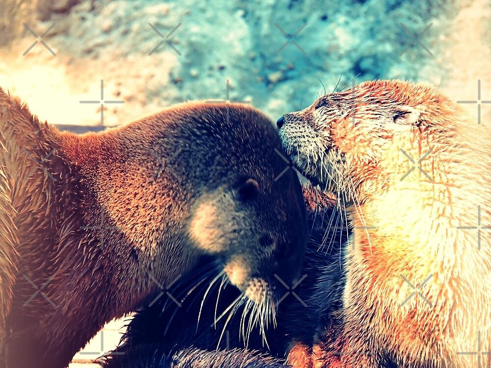 Otter love by kcrystalfriend