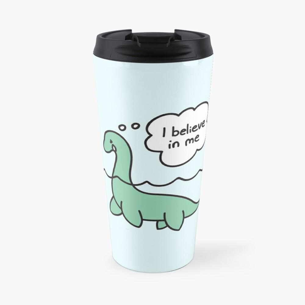 Nessie Believes in Nessie Travel Mug