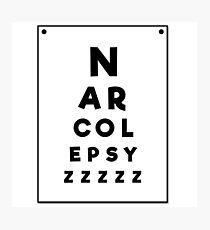 Sleep Disorders: Narcolepsy... zzzz Photographic Print