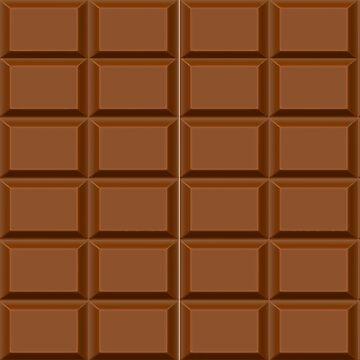 Pochari Chocolate Bar All-Over Pattern by pochari