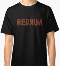 REDRUM Mit Blick auf den Hotelteppich Stephen Kings The Shining Classic T-Shirt