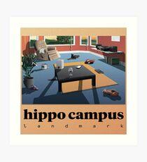 Hippo Campus (MN) TOUR 2017 Art Print