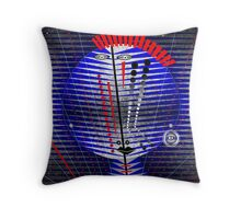 Tribal Whimsy 18 - Throw Pillow by Glen Allison