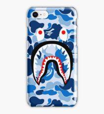 Blue sark iPhone Case/Skin