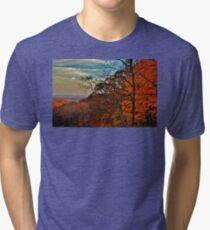 Autumn Horizon Tri-blend T-Shirt