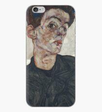 Self-Portrait with Physalis Egon Schiele iPhone Case