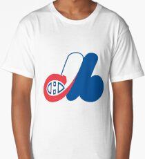 Habs - Expos Logo Mashup Long T-Shirt