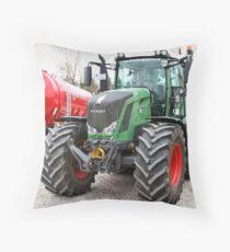 Fendt 828 Vario - MAN Trucknology Days Throw Pillow