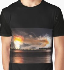 Fireworks - Seenachtfest 2013 Constance - Lake Constance Graphic T-Shirt