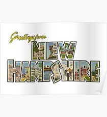 Greetings from New Hampshire 2 Poster