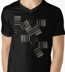 Permutation Men's V-Neck T-Shirt