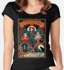 hocus pocus Women's Fitted Scoop T-Shirt