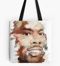 Paint-Stroked Portrait of Actor and Comedian, Chris Rock Tote Bag