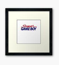 Super Game Boy Framed Print