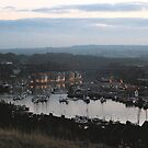 Whitby evening, up river by dougie1