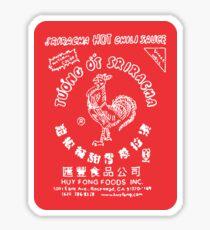 Sriracha Hot Chili Sauce Sticker