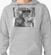 Half a zombie is better than none. Pullover Hoodie