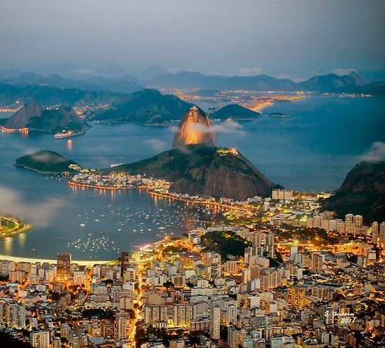 RIO DE JANEIRO, by E. Giupponi by Elizabeth Giupponi