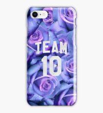 Purple Rose Jake Paul Team 10 iPhone Case/Skin