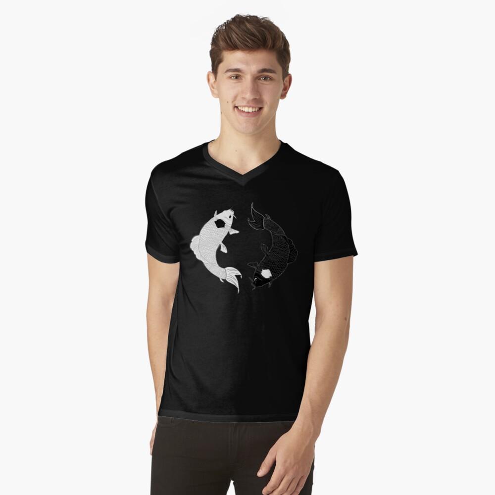Koi Spirits V-Neck T-Shirt