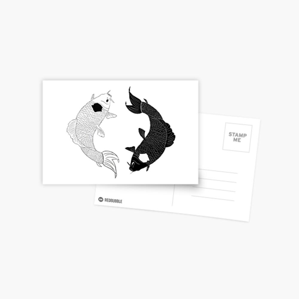 Koi Spirits Postcard