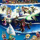 Hero of Winds - The Legend of Zelda Wind Waker Montage by LunaAndromeda
