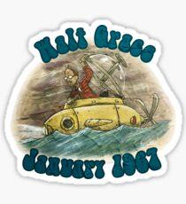 Walt Grace January 1967 Sticker