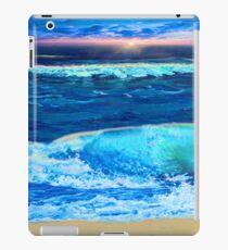 Sunset surf iPad Case/Skin