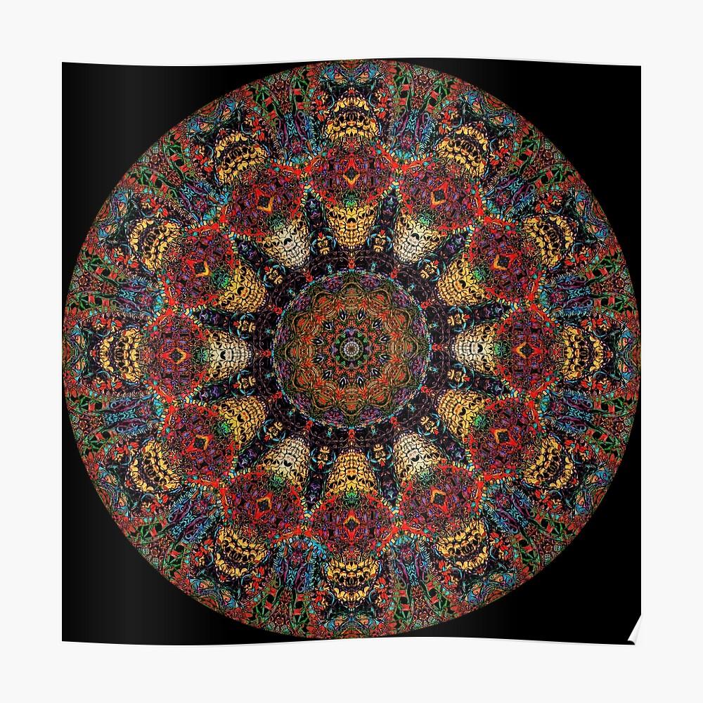 Ayahuasca-Mandala Poster