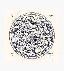 Zodiac Skies & Astrological Ties | Ink on Paper Photographic Print