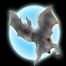 Bat-Mun Halloween 2016 print by Syn-Cypher