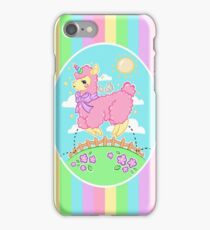 Alpaca Unicorn! iPhone Case/Skin