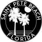 SAINT PETE BEACH FLORIDA PETERSBURG ST OCEAN PALMS SURFING by MyHandmadeSigns